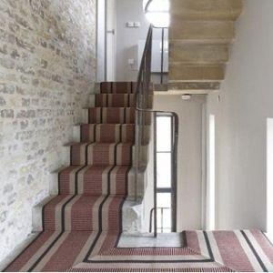 Urbane Living Rugs And Runners Wool Sisal Designer Stripes Stairs Carpet Stairs Staircase Runner