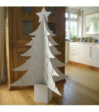 Giant Cardboard Christmas Tree Cardboard Christmas Tree 3d Christmas Tree Alternative Christmas Tree