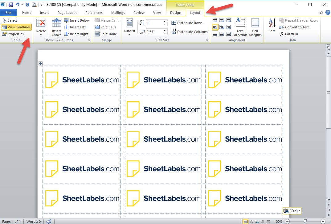 Microsoft Word Templates Labels In 2020 Label Templates Printable Label Templates Printing Labels