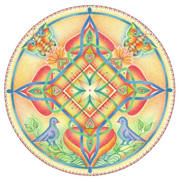 Mandala's tekenen met Hannie de JongPicture 43 «   Kolams