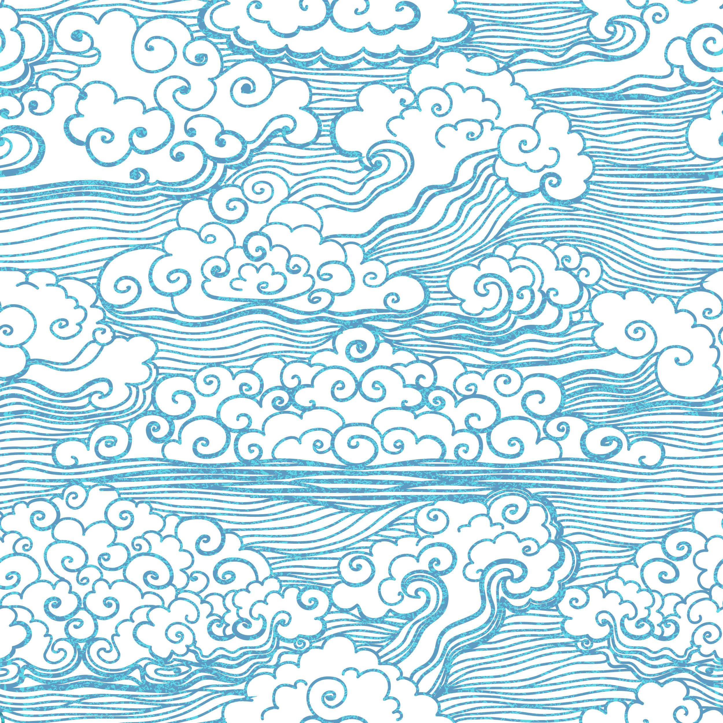 Image result for japanese clouds | Copy this | Wind drawing