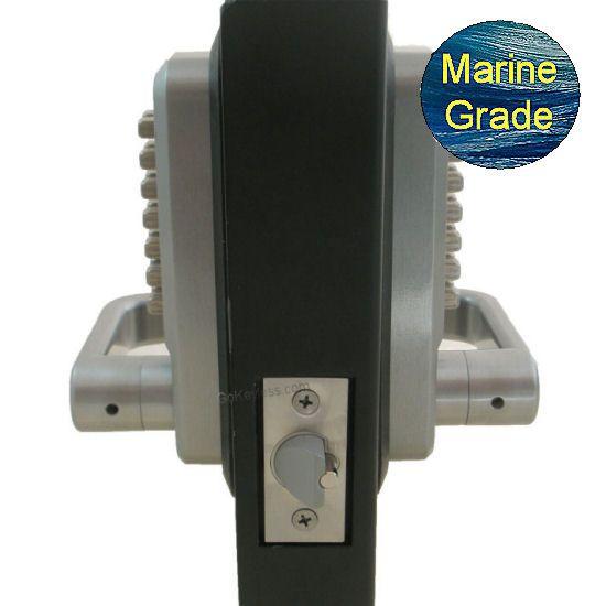 Lockey 2835dc Double Sided Mechanical Keyless Lever Lock Keyless Door Lock Smart Door Locks Keyless