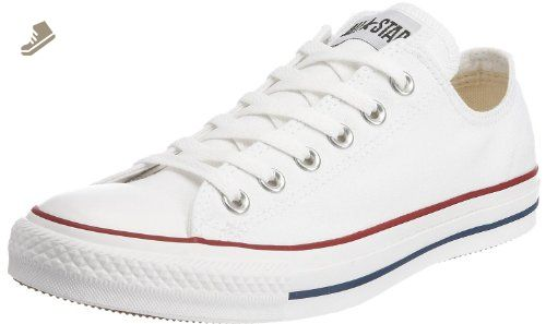70e07b358d8a0f Converse Unisex Chuck Taylor All Star Ox Low Top (Optical-white) Sneakers -  8.5 B(M) US Women   6.5 D(M) US Men - Converse chucks for women ( Amazon ...