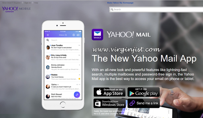 Download New Yahoo Mail App For iOS / Android / Windows