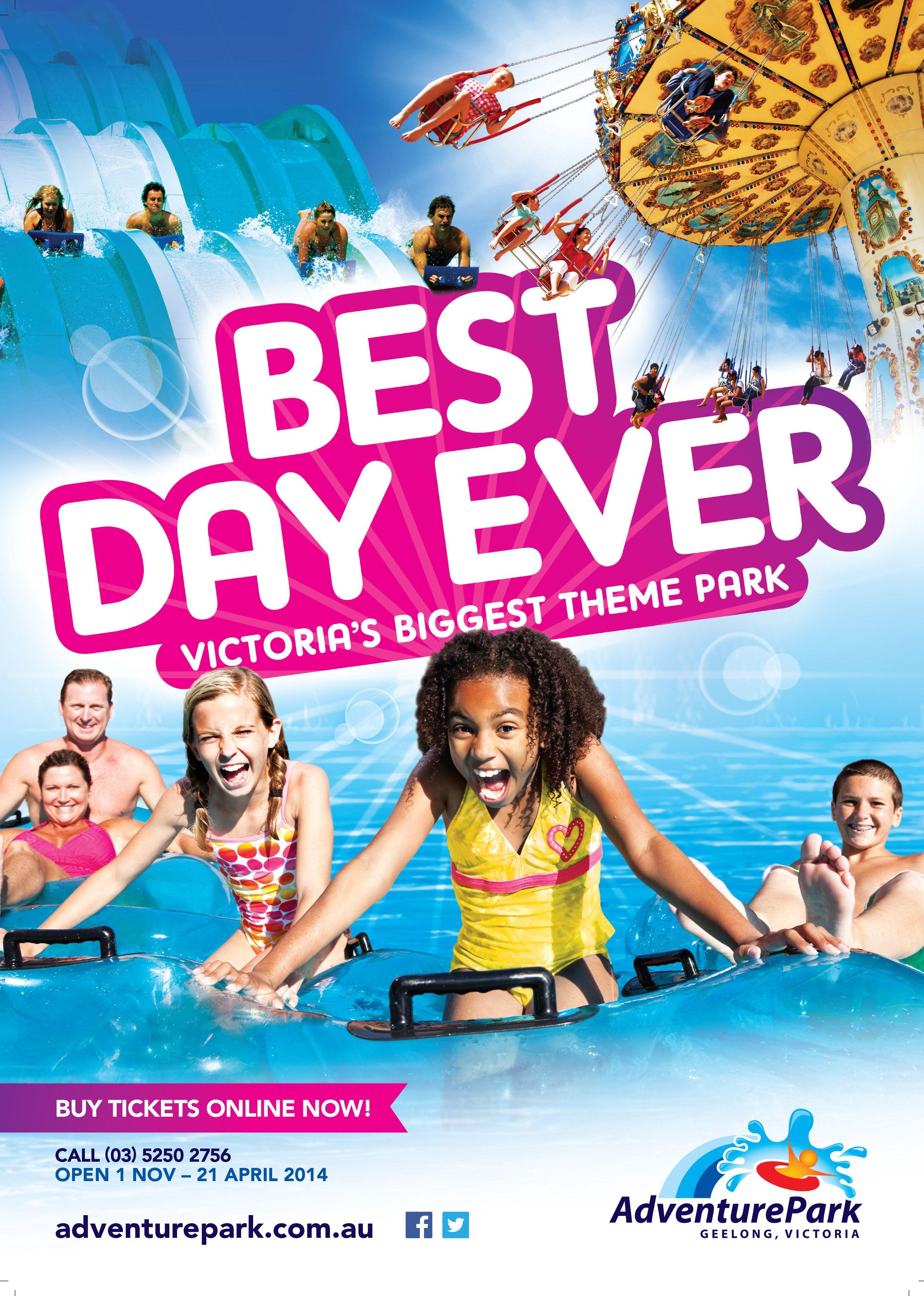 Adventure Park, Press advert design Advertising