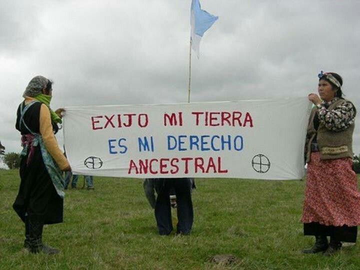 Lucha Mapuche en mi corazon - luchar por la tierra es un asunto mundial