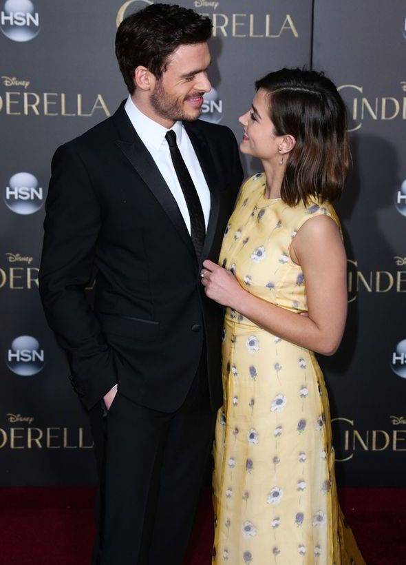 Jenna Coleman and Richard Madden. I just found out that ...