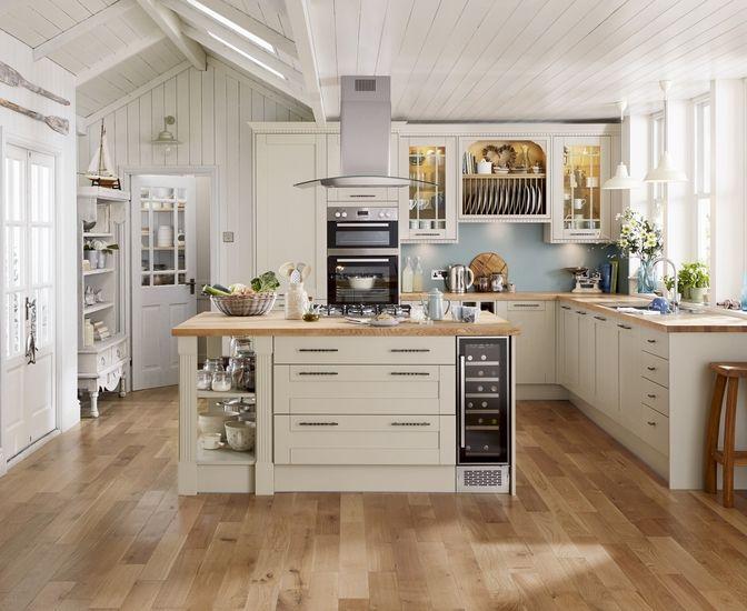 Tewkesbury Cashmere Kitchen design, Howdens kitchens