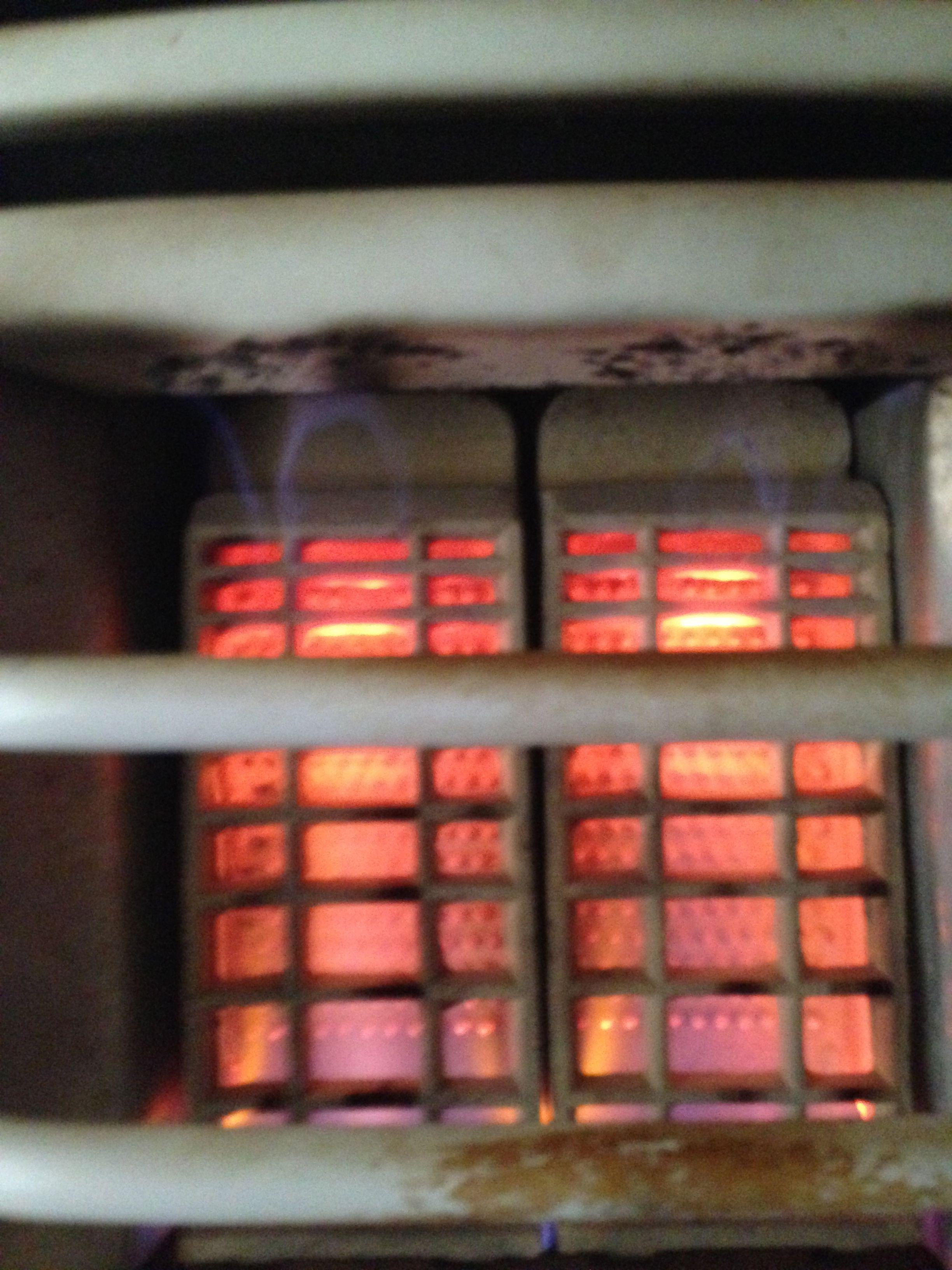 Bathroom gas heater - Hanson Gas Bathroom Heater