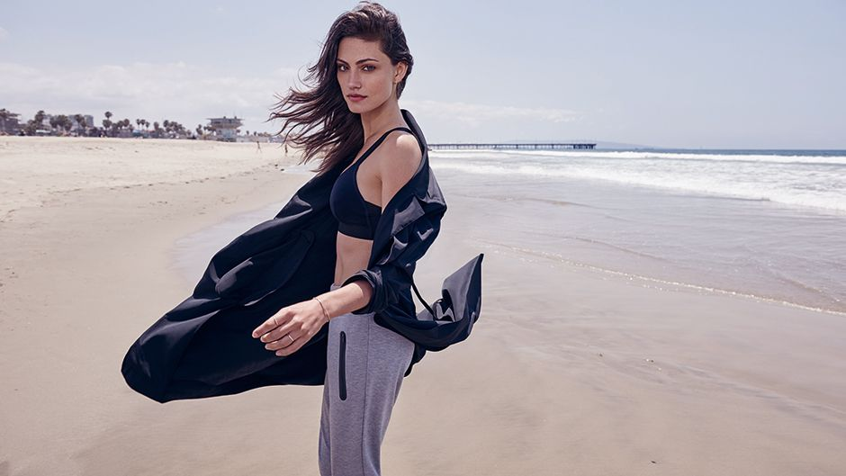 An exclusive sneak peak at Phoebe Tonkin for Witchery Balance - the high street brands first lifestyle collection.