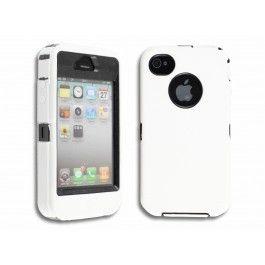 iPhone 4(S) Heavy Protector - Wit gratis Bestellen!