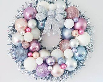 SALE. Set of 2. Christmas Wreath, Red Poinsettia, FREE SHIPPING Christmas Garland, Cordless, Pre-lit, Original,