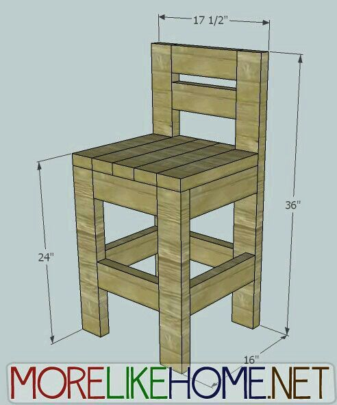 Barstoool Pallets Pallet Bar Stools Furniture Diy