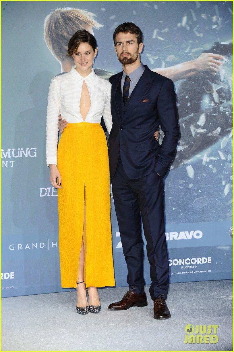 Shailene Woodley & Theo James Bring 'Insurgent' To Berlin | shailene woodley theo james insurgent germany premiere 05 - Photo