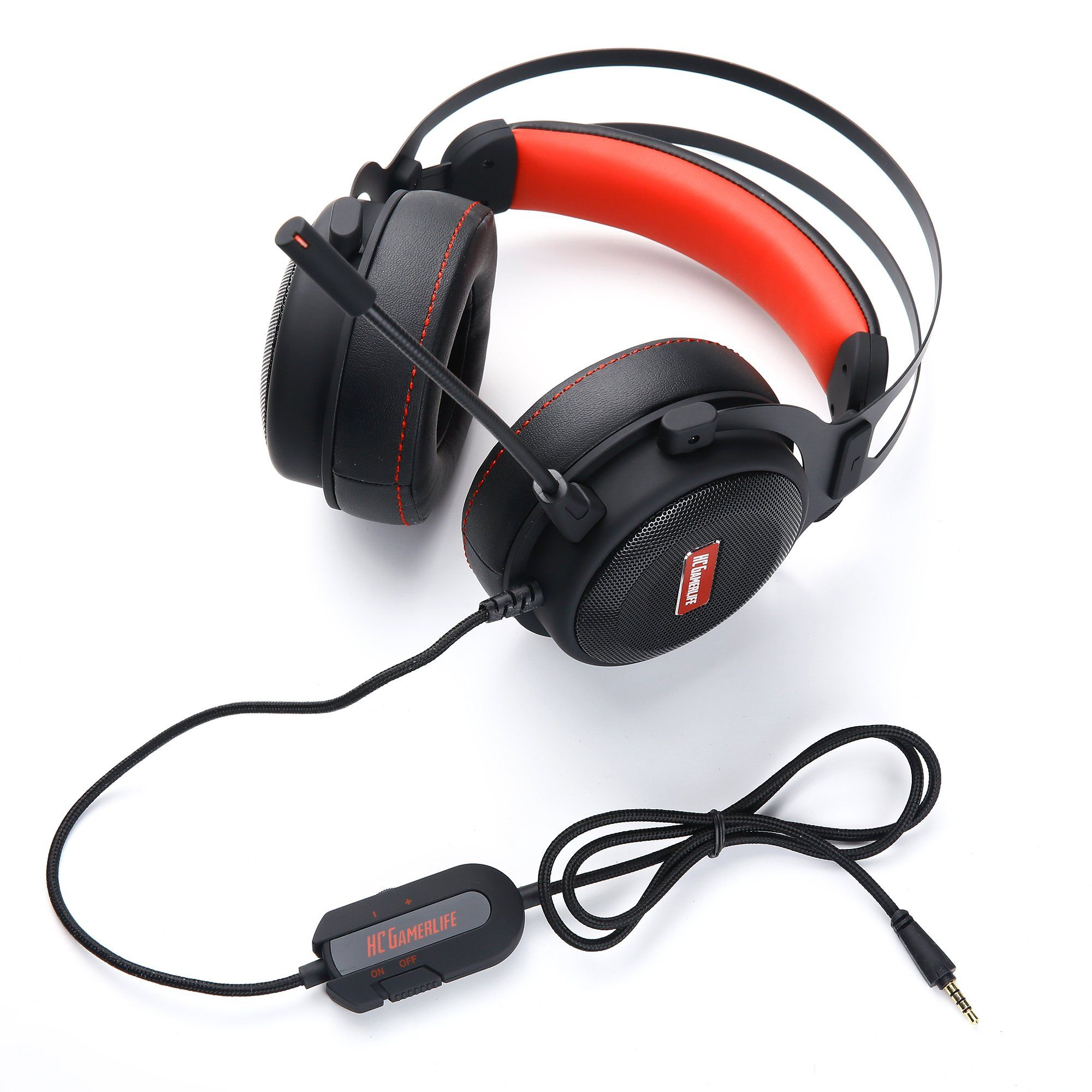 Pro Gaming Headset With Mic Universal Game Changing Premium 3d Hd Stereo Sound Video Gamer Wired Headphones For Xb Wired Headphones Headphones Gaming Headset