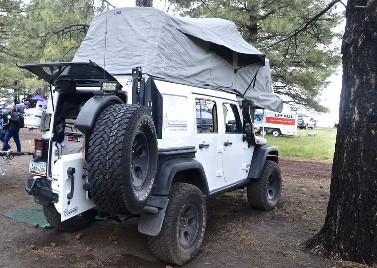 The JK Habitat tent is supplied by Nemo : jk tent top - memphite.com