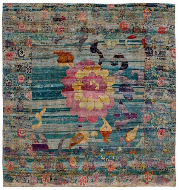 "Silk Ethos 12'4""x13'2"": Ethos Oriental Rugs"
