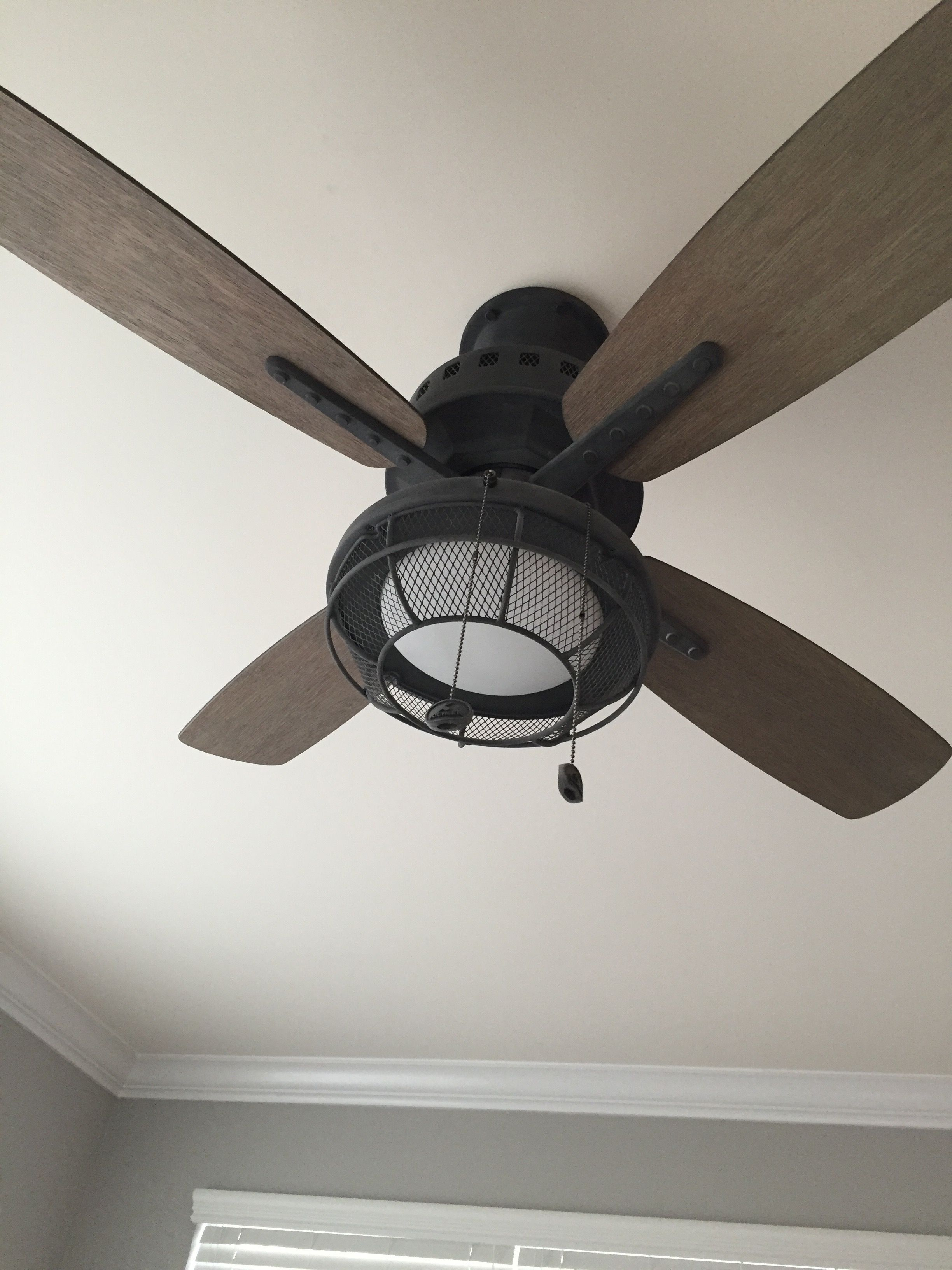 Farmhouse Industrial Ceiling Fans With Images Farmhouse Ceiling Fan
