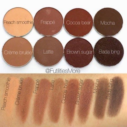 Makeup Geek Cream And Brown Eyeshadows Makeup Geek Eyeshadow Makeup Geek Eyeshadow Swatches Makeup Geek