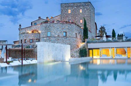 Dîner de charme dans un château du Val d\u0027Orcia ( à partir de 2 nuits