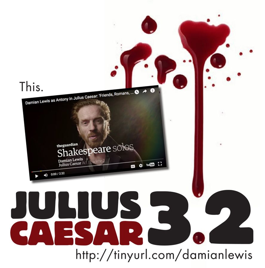 Free Resource To Use When Teaching Juliu Caesar Act 3 Scene 2 Shakespeare Highschooleng High School Literature 1 What I The Best Summary Of Thi Monologue