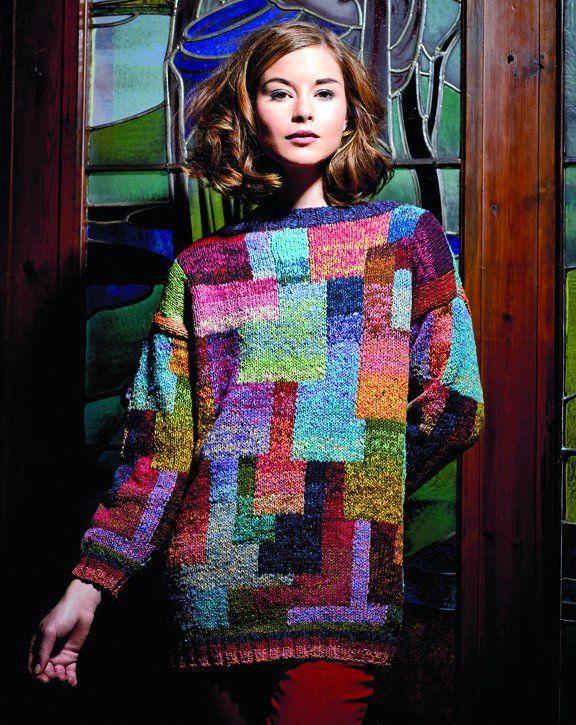 Kaffe Fassett Katja Sweater kit