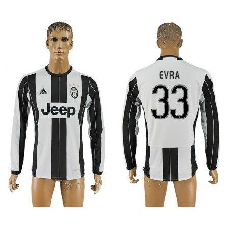 Juventus 16-17 #Cvra 33 Hjemmebanetrøje Lange ærmer,245,14KR,shirtshopservice@gmail.com