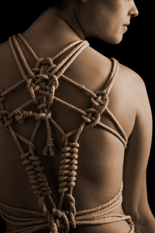 Bondage beginning rope