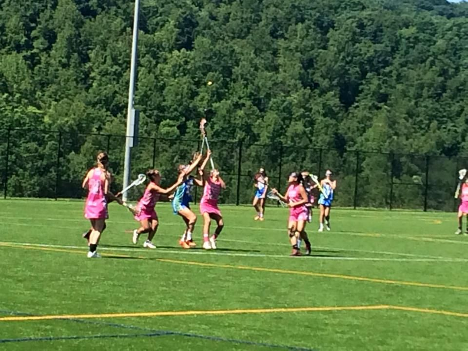 Lacrosse over the weekend at Rocky Top Sports World