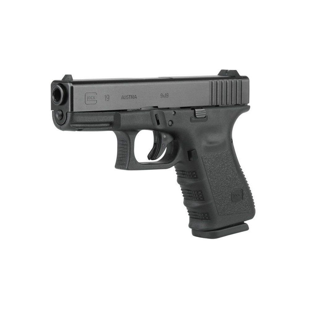 Glock 19 Gen 3, 9x19 - halbautomatische Pistole | SCHIESSSPORT ...