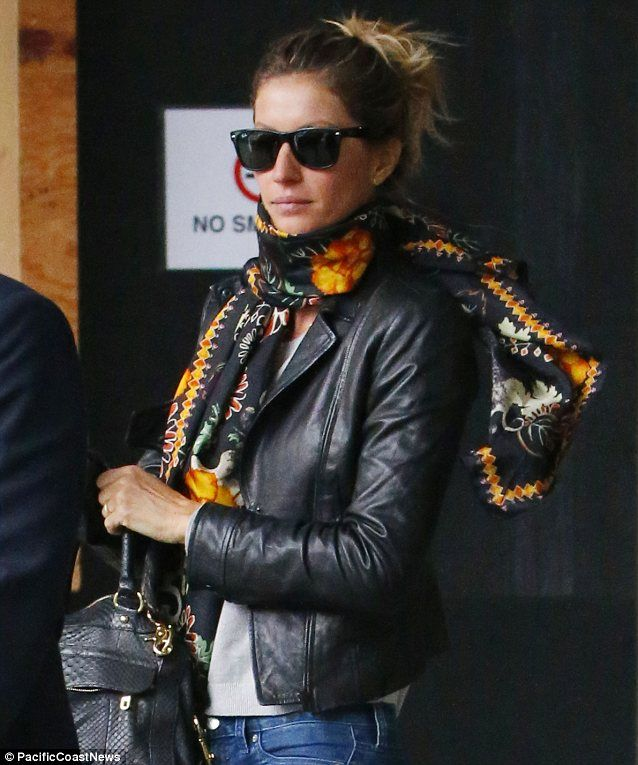 Leather Jacket - Gisele Bünchen