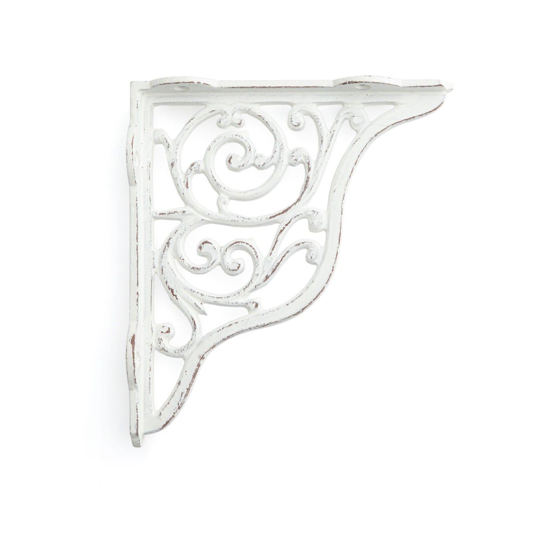Traditional Scroll Cast Iron Shelf Bracket