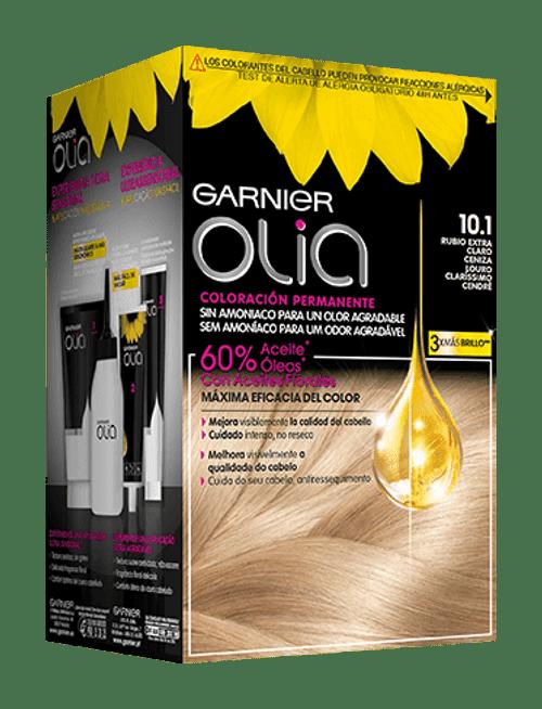 Coloración Sin Amoníaco Rubio Extra Claro Ceniza 10 1 Olia Garnier Rubio Extra Claro Cenizo Rubio Tinte