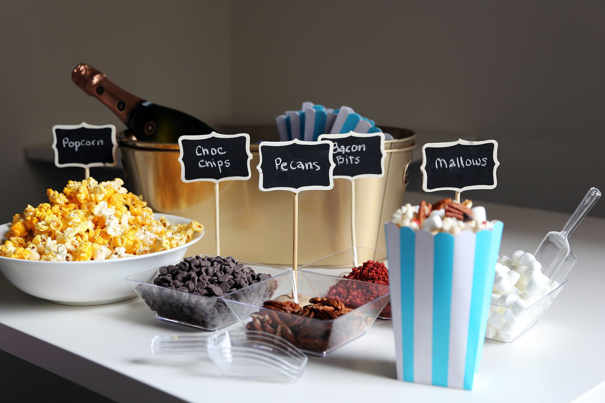 Set Up a Showstopping Popcorn Bar | Party Ideas | Popcorn