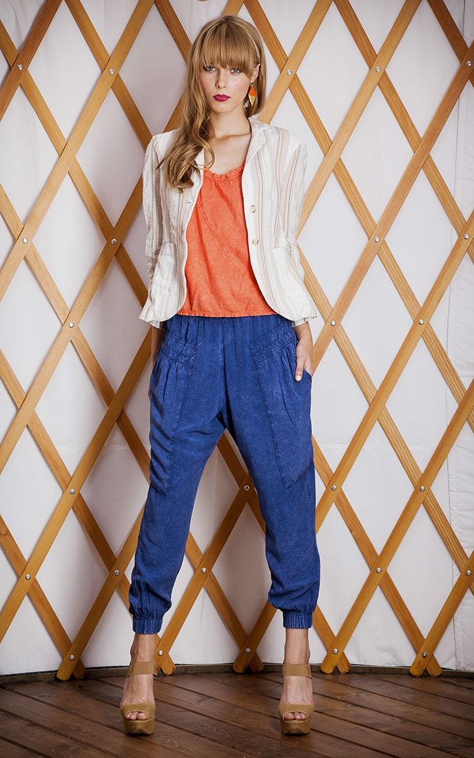 #THEODELLS Slouch Pant + Boy Blazer #spring14 #fashion