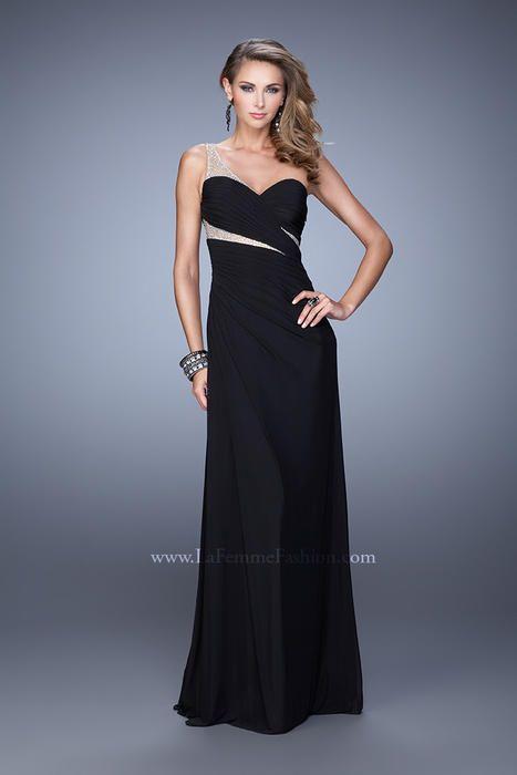 La Femme 21011 La Femme Prom Shop Z Couture for the latest Prom 2017 Dresses.