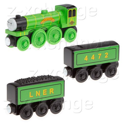 Usa Flying Scotsman Water Tanker Tender Thomas Wooden Train Engine