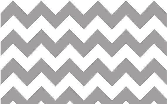 Riley Blake Chevron Gray Chevron Fabric by SimplySewFabric