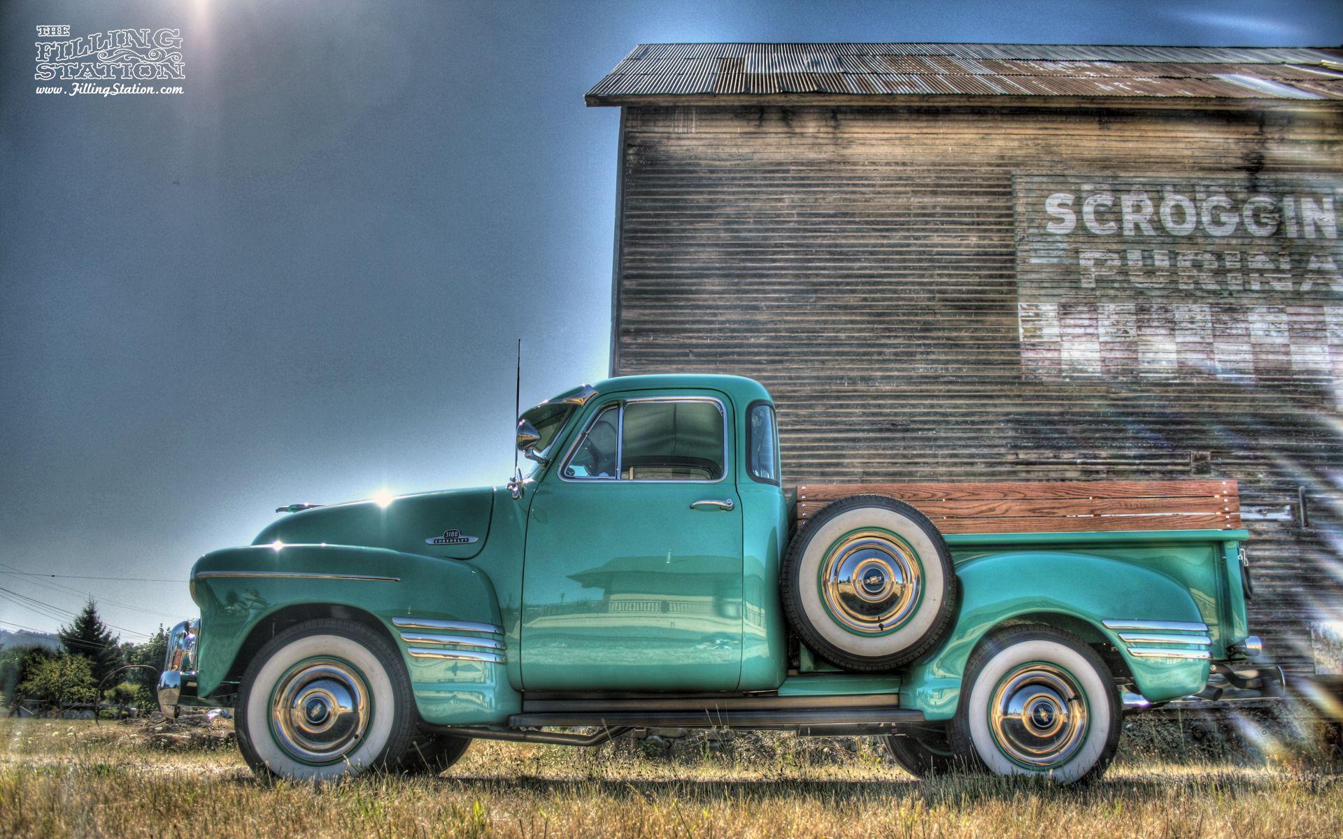 Chevrolet 3100 Desktop Wallpaper 1920x1200 Chevy Trucks
