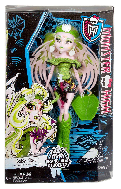 Monster High Brand-Boo Batsy Claro Doll