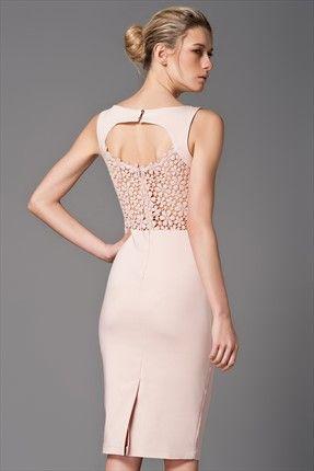 Pudra Abiye Elbise Mlwss142402 Elbise Moda Stilleri Elbise Modelleri