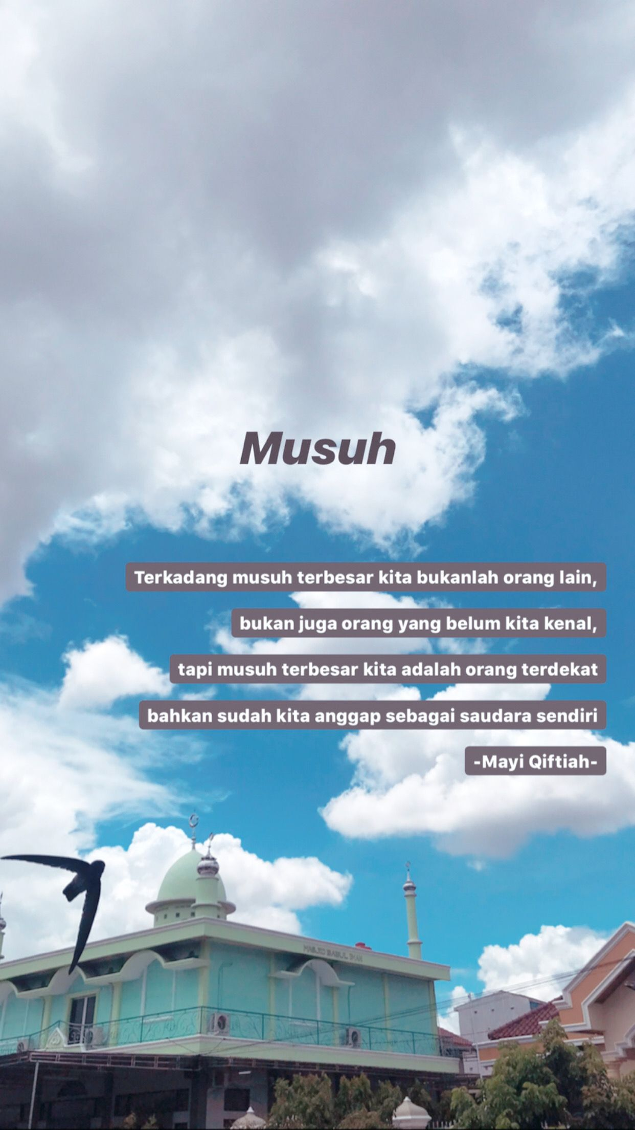 Musuh Dalam Selimut Kata Indah Motivasi Kutipan Real Estate Bahasa Indonesia