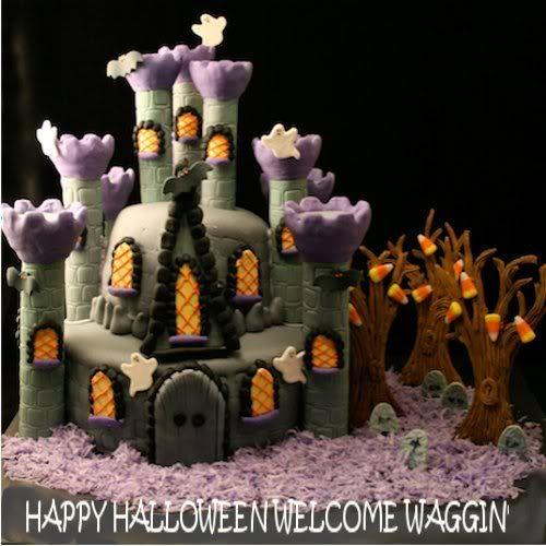 Haunted House Cake | Haunted House Cake photo HALLOWEENHAUNTEDHOUSECAKE.jpg