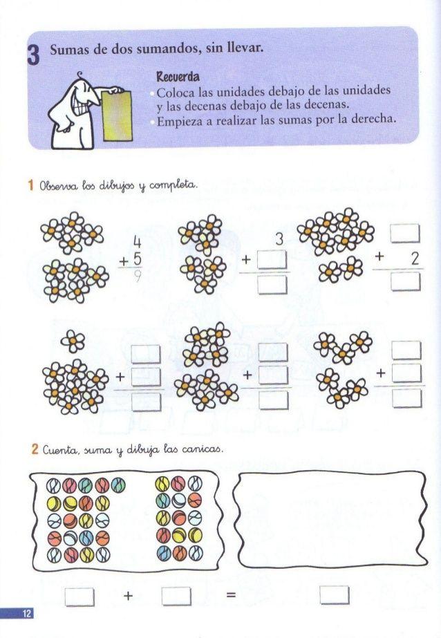 110 problemas de matematicas pdf primer grado | matematico ...