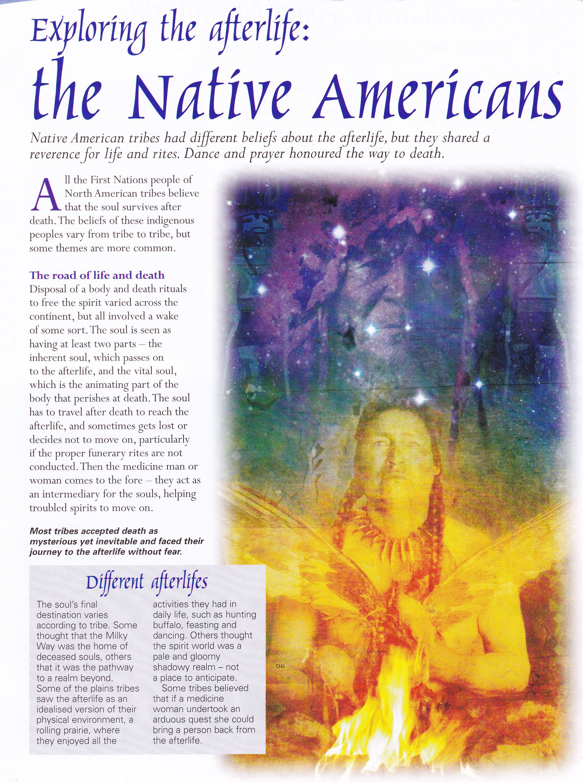 native american afterlife