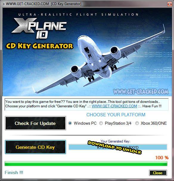 x plane 10  full version crack