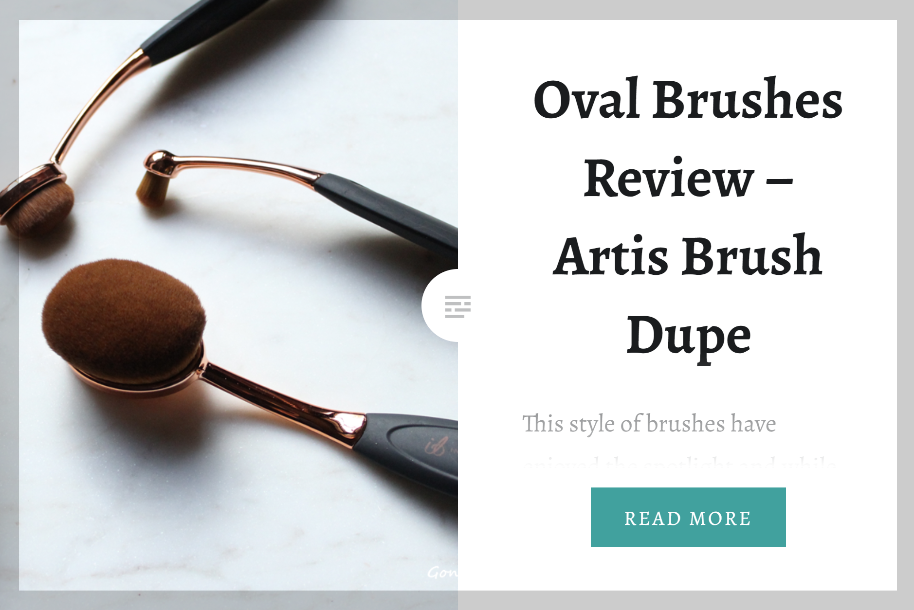 Oval Brushes Review Artis Brush Dupe. Gone Swatching xo