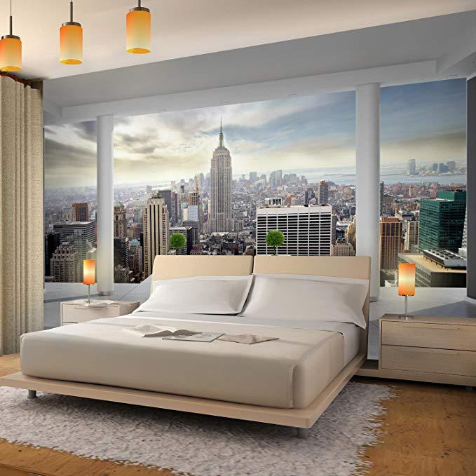 Fototapeten New York 352 X 250 Cm Vlies Wand Tapete Wohnzimmer