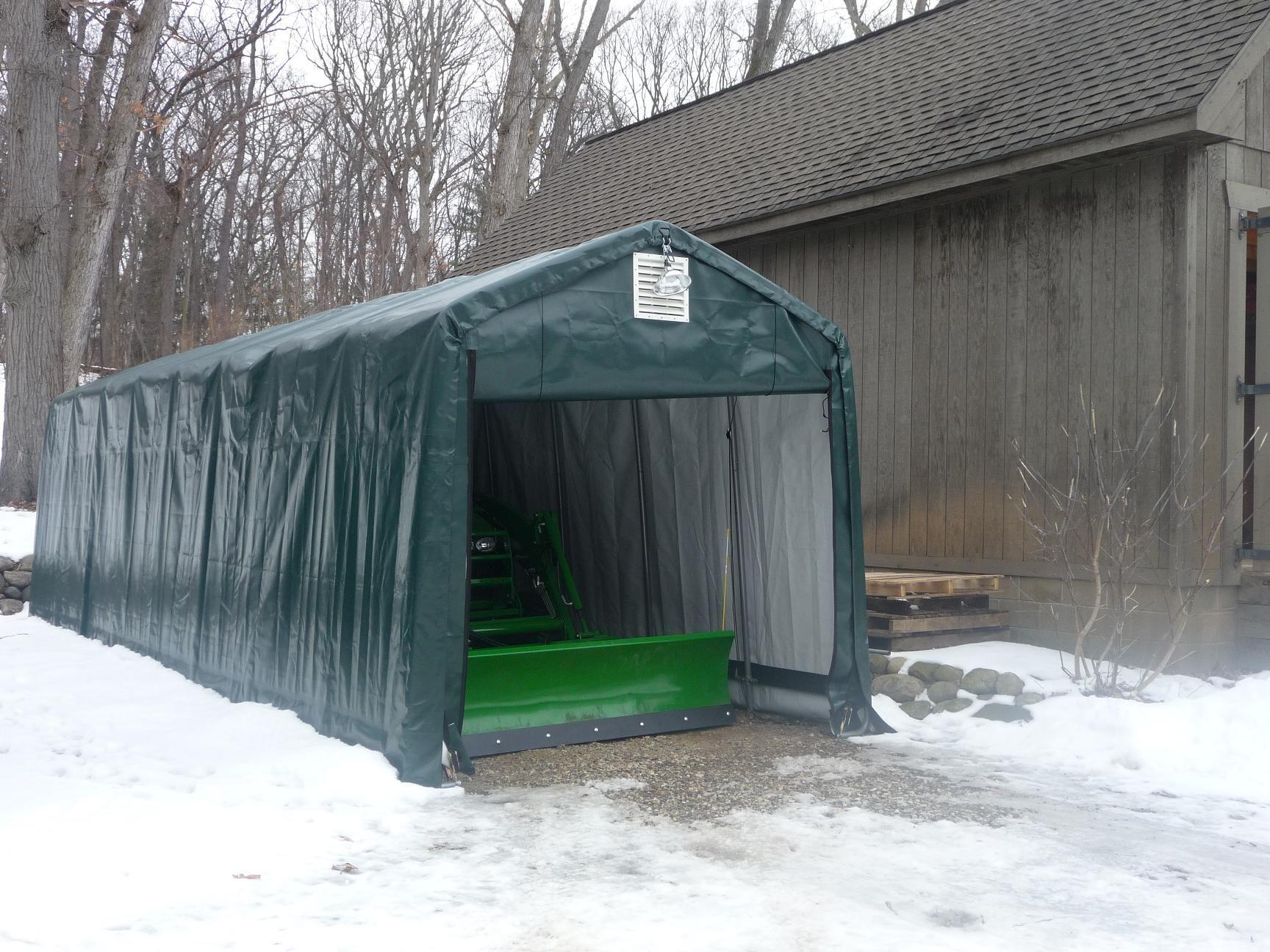 barn homestead com garages outdoor portable amazon h l x model dp w style garden green shelterlogic garage canopies