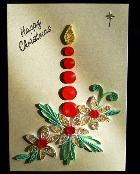 Christmas Candle Quilling Patterns Quilling Christmas Free Quilling Patterns